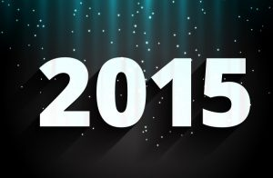 2015 happy new year design art