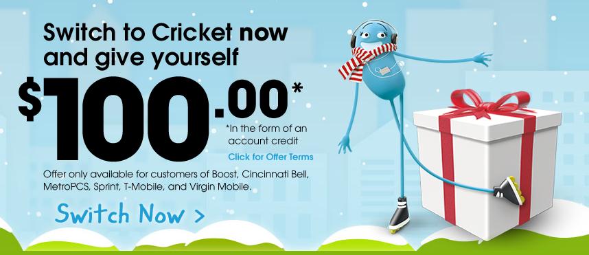 cricket promo